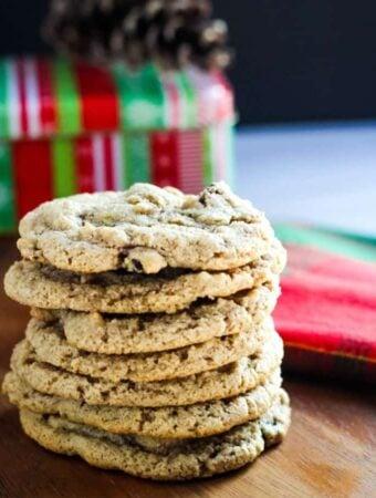 vegan cranberry cookies