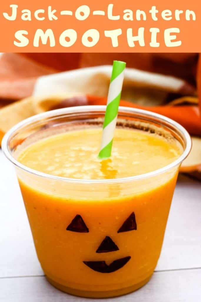 jack-o-lantern smoothie pin