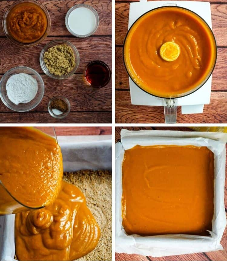 pumpkin pie filling ingredients