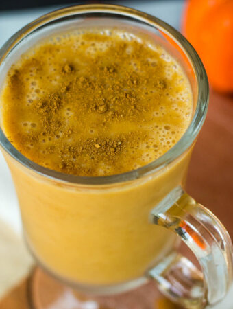 vegan pumpkin smoothie
