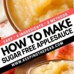 how to make sugar free applesauce