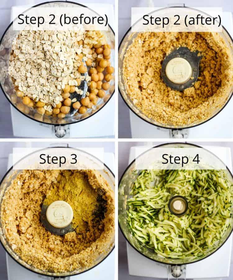 chickpea meatball recipe steps