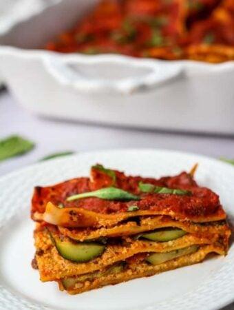 gluten free began lasagna