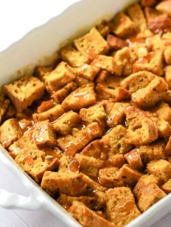 vegan french toast casserole