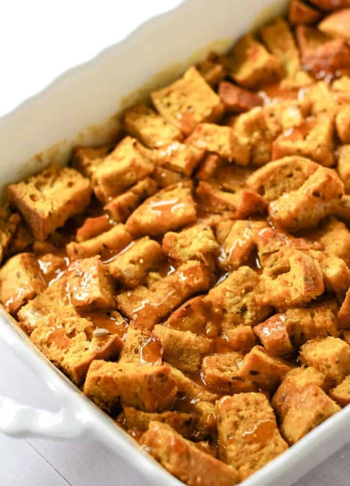 vegan french toast casserole