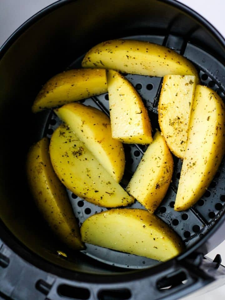 potato wedges in air fryer