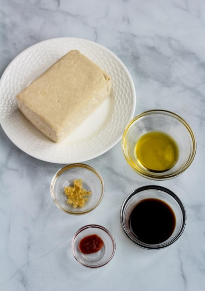 air fryer tofu ingredients