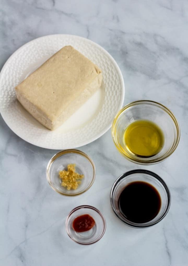 air fryer tofu ingredients