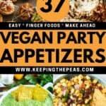 vegan appetizers