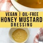 vegan honey mustard