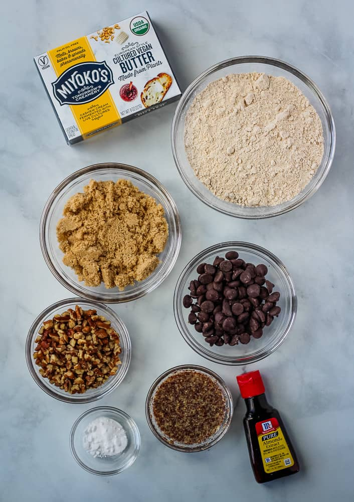 dairy free chocolate chip cookie ingredients
