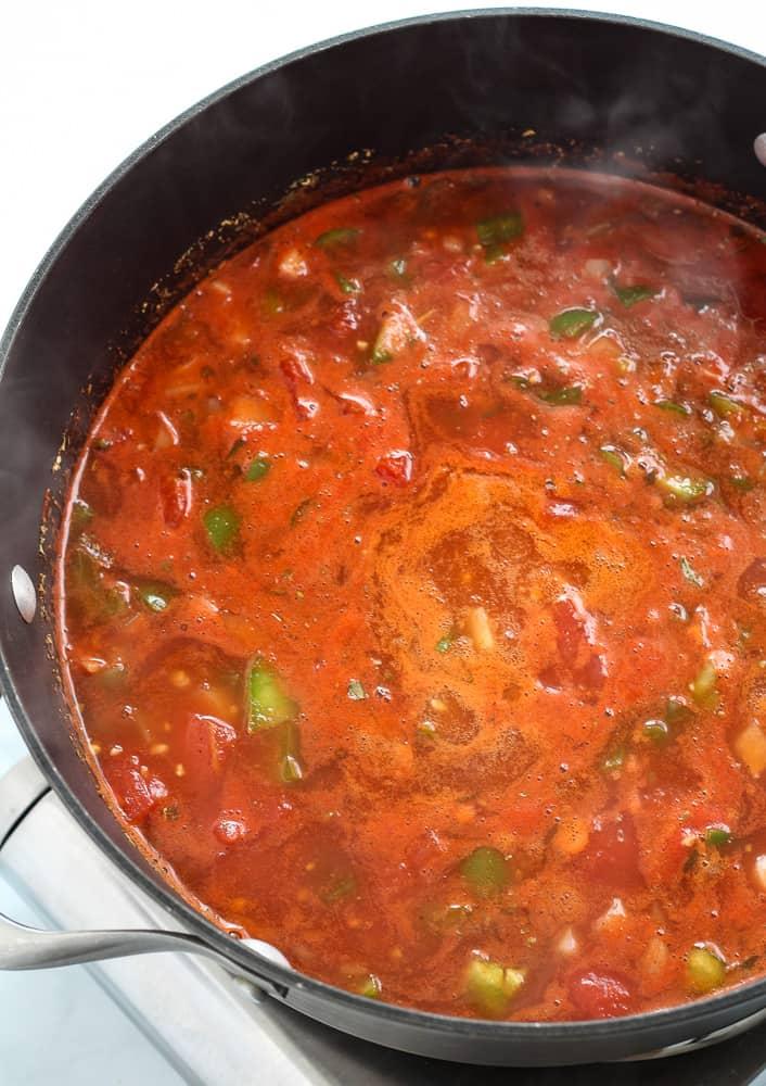 tomato sauce for vegan goulash