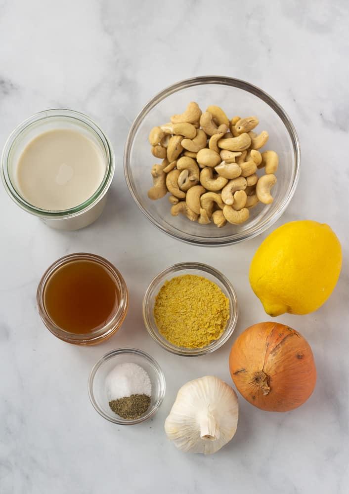 cashew cream sauce ingredients