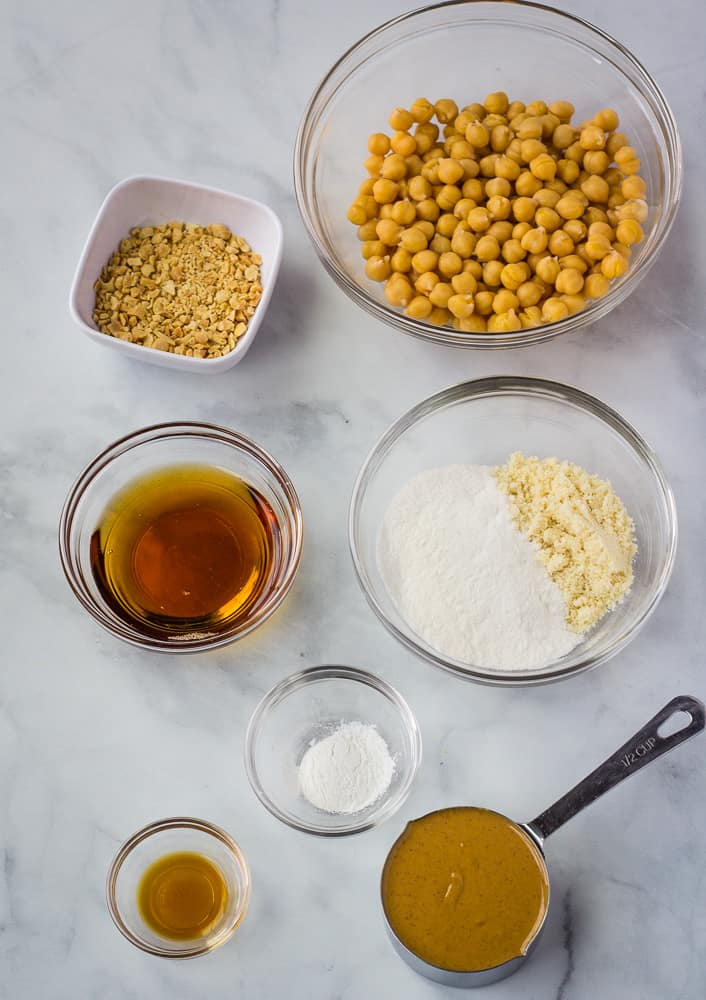 chickpea cookie ingredients