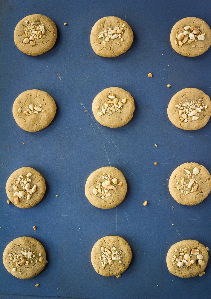 baked chickpea cookies