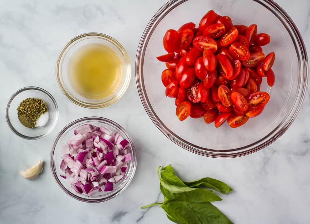 italian tomato salad ingredients
