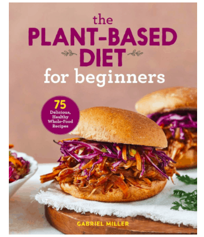 plant based diet for beginners book cover
