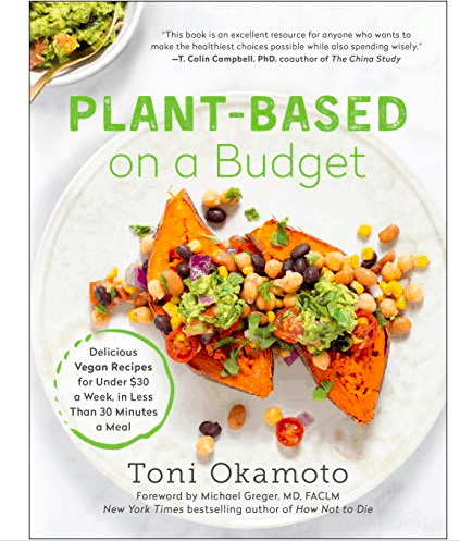 plant based on a budget book cover