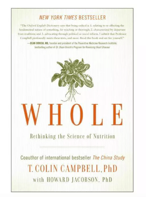 whole by T Colin Campbell book cover