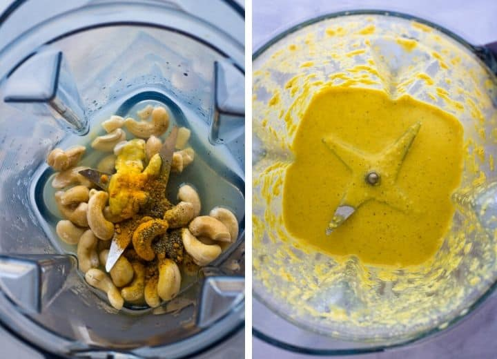 vegan egg salad dressing in blender
