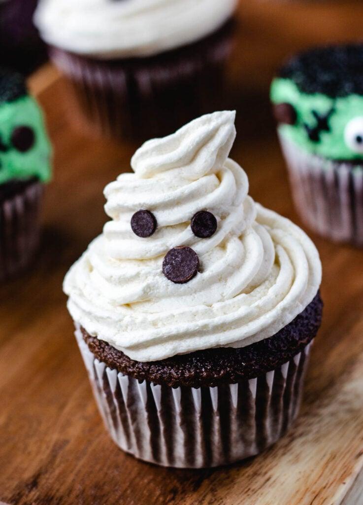 ghost cupcake