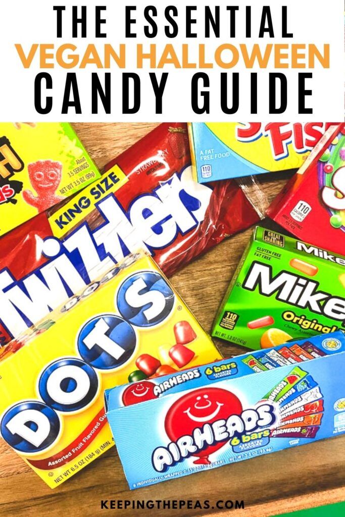 vegan halloween candy guide