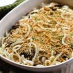 dairy free green bean casserole