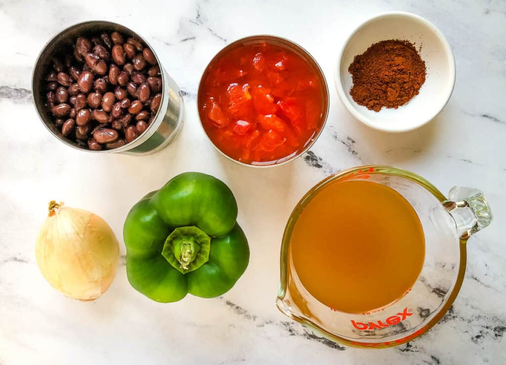 easy and quick chili recipe ingredients