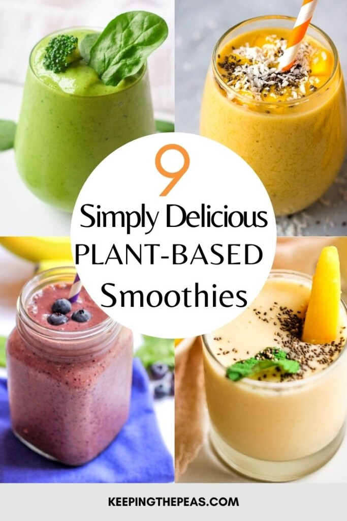 plant-based smoothies