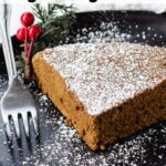 vegan ginger cake