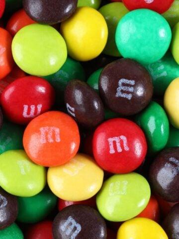 M&M candies.